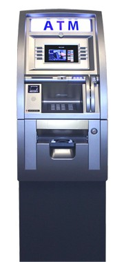 Genmega G2500 Wide Color LCD Series ATM Machine